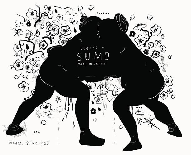 sumo - - sumo stock-grafiken, -clipart, -cartoons und -symbole