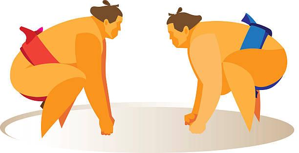 sumo.fight - sumo stock-grafiken, -clipart, -cartoons und -symbole