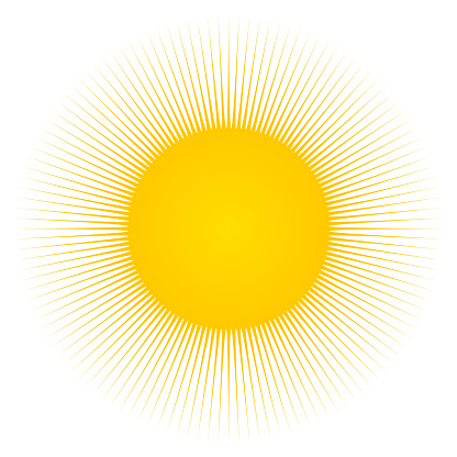 Sun and sunbeams