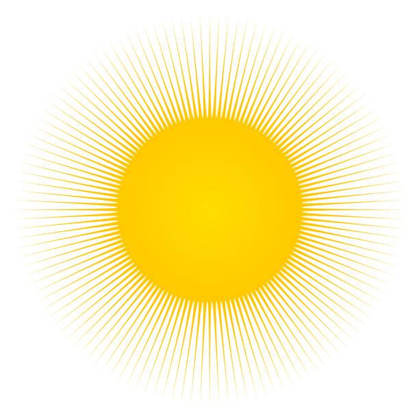 ilustrações de stock, clip art, desenhos animados e ícones de sun and sunbeams - sun