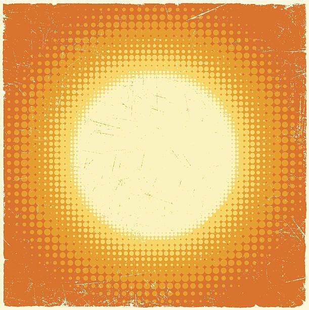 Sun Background vector art illustration