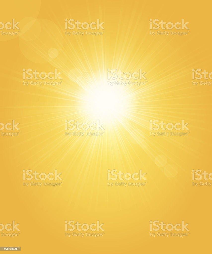 Sonne Hintergrund – Vektorgrafik