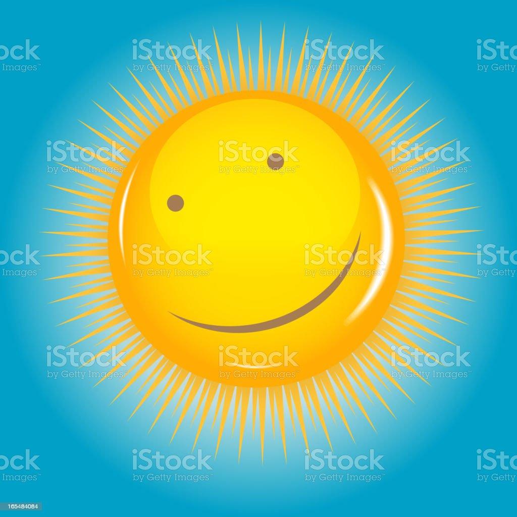 Sun  background vector illustration royalty-free stock vector art