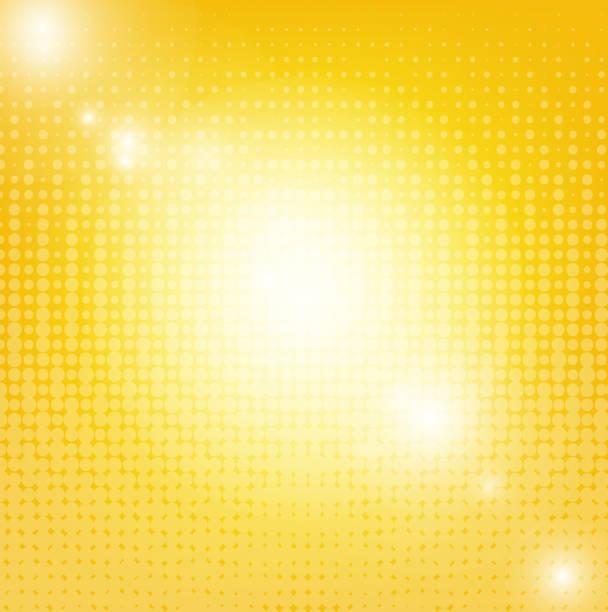 bildbanksillustrationer, clip art samt tecknat material och ikoner med solen bakgrund med oskärpa - gul bakgrund