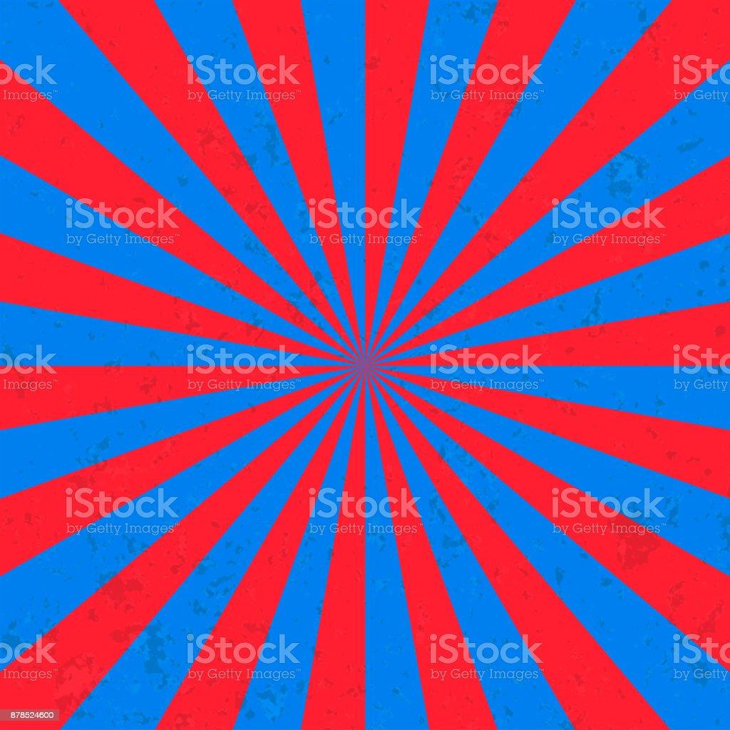 Sonne platzen Hintergrund Zirkus – Vektorgrafik