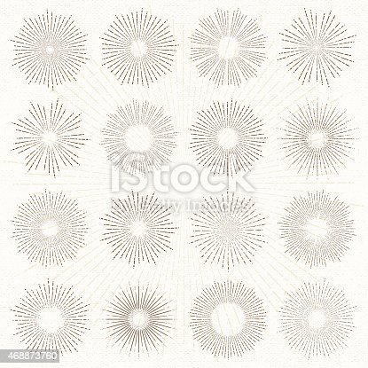 Set of sun burst line drawing illustrations.More works like this linked below.http://www.myimagelinks.com/Lightboxes/design_elements_files/shapeimage_2.png