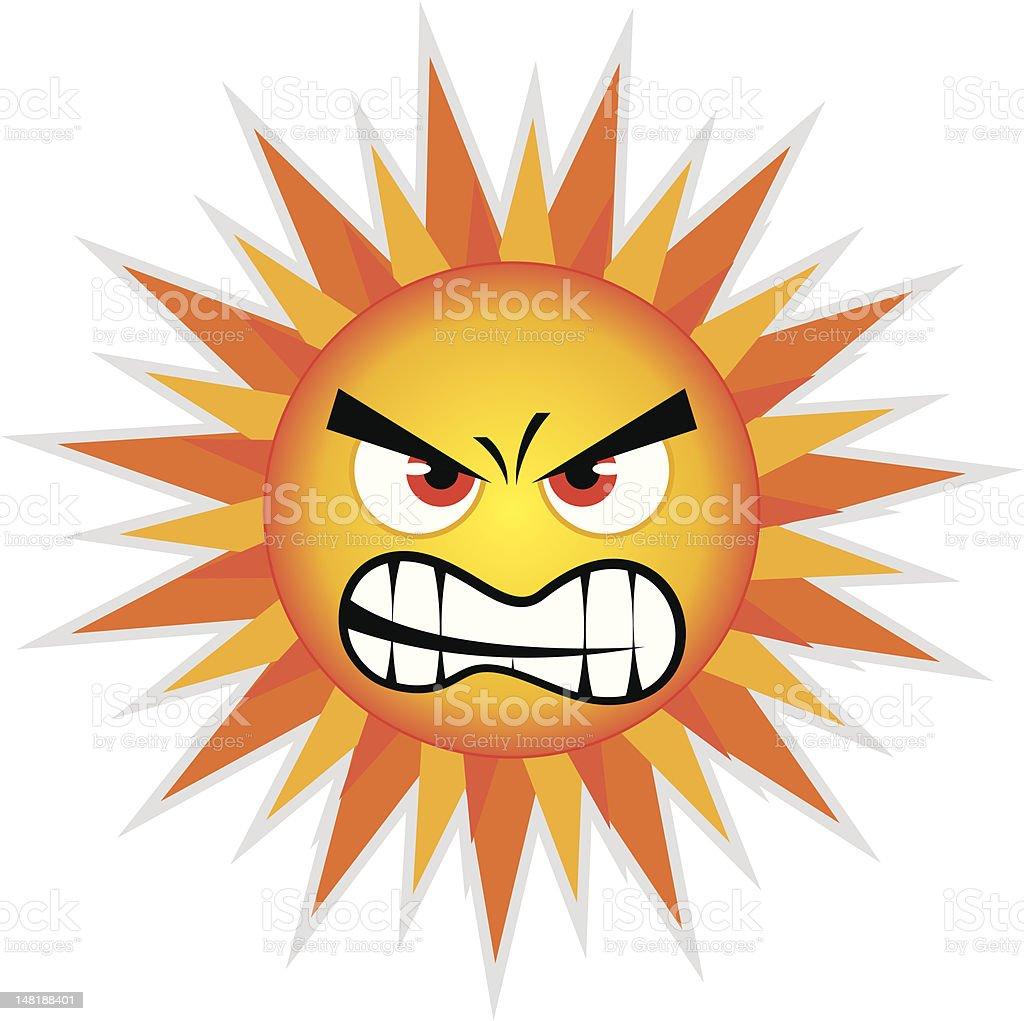 Sun Design Element royalty-free stock vector art