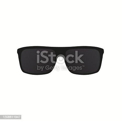 istock Sun glasses icon. Vector eps10 1208811947