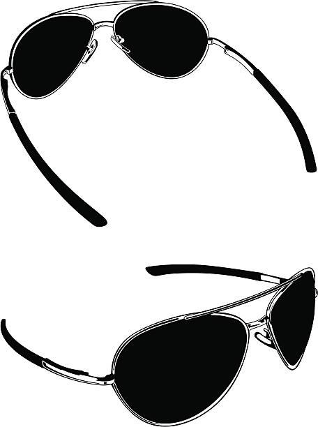 Sun Glasses vector art illustration