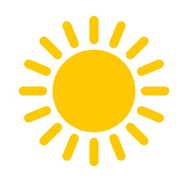 ilustrações de stock, clip art, desenhos animados e ícones de sun icon - sol