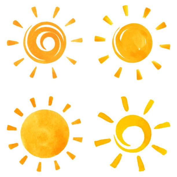 ilustrações de stock, clip art, desenhos animados e ícones de sun icons - sun