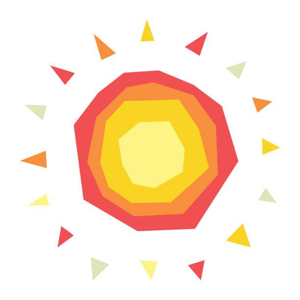 bildbanksillustrationer, clip art samt tecknat material och ikoner med solen illustration - spain solar
