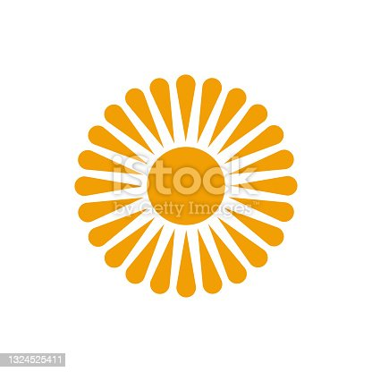 istock sun logo template vector icon 1324525411