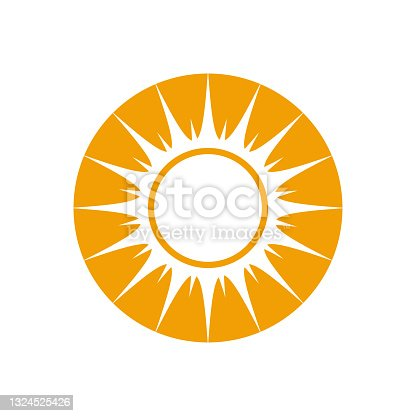 istock sun logo template vector icon 1324525426