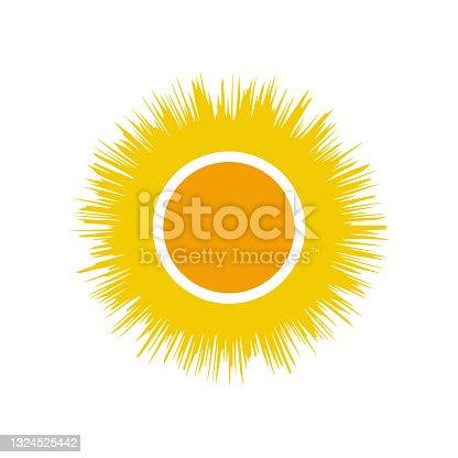 istock sun logo template vector icon 1324525442