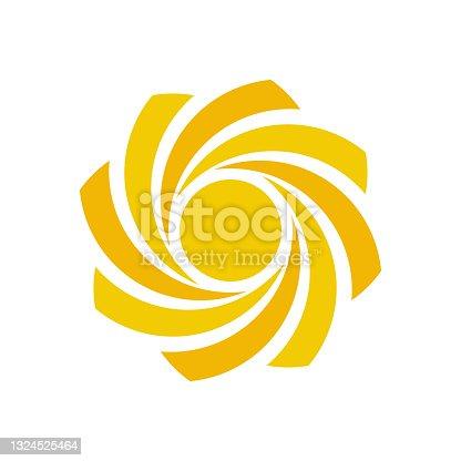 istock sun logo template vector icon 1324525464