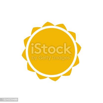 istock sun logo template vector icon 1324525489