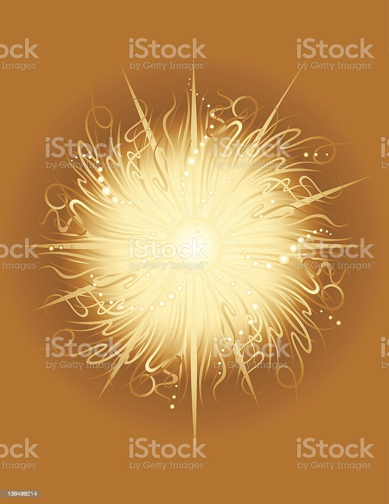 Sun Radiance royalty-free stock vector art