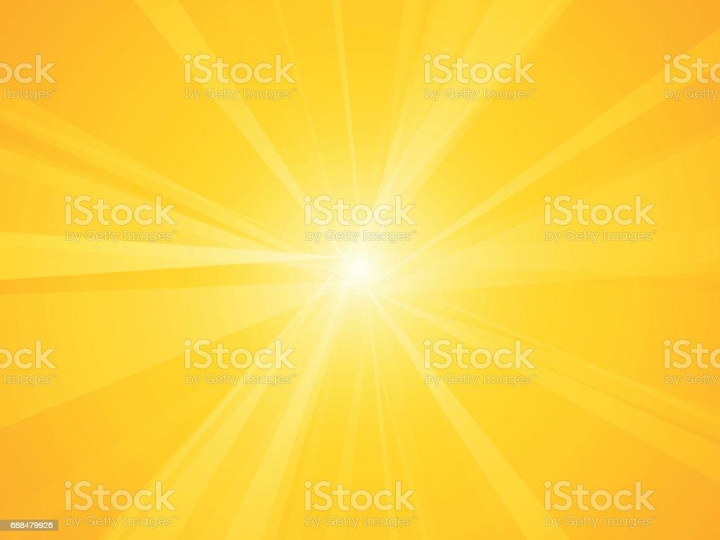 Güneş Işınları Arka Plan Stok Vektör Sanatı Arka Planlarnin Daha