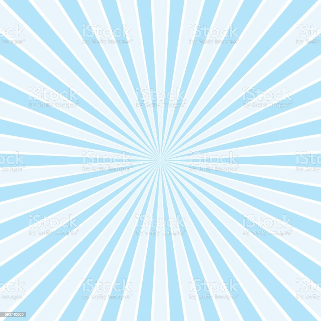 Abstract blue sunbust rays background Vector | Free Download