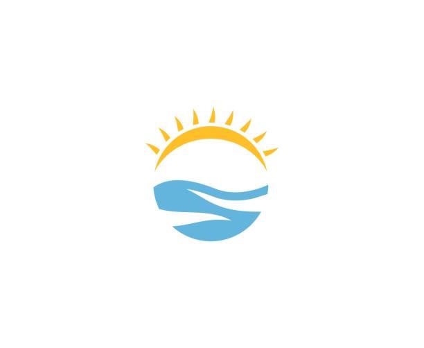 Sonnenmeer-Logo – Vektorgrafik