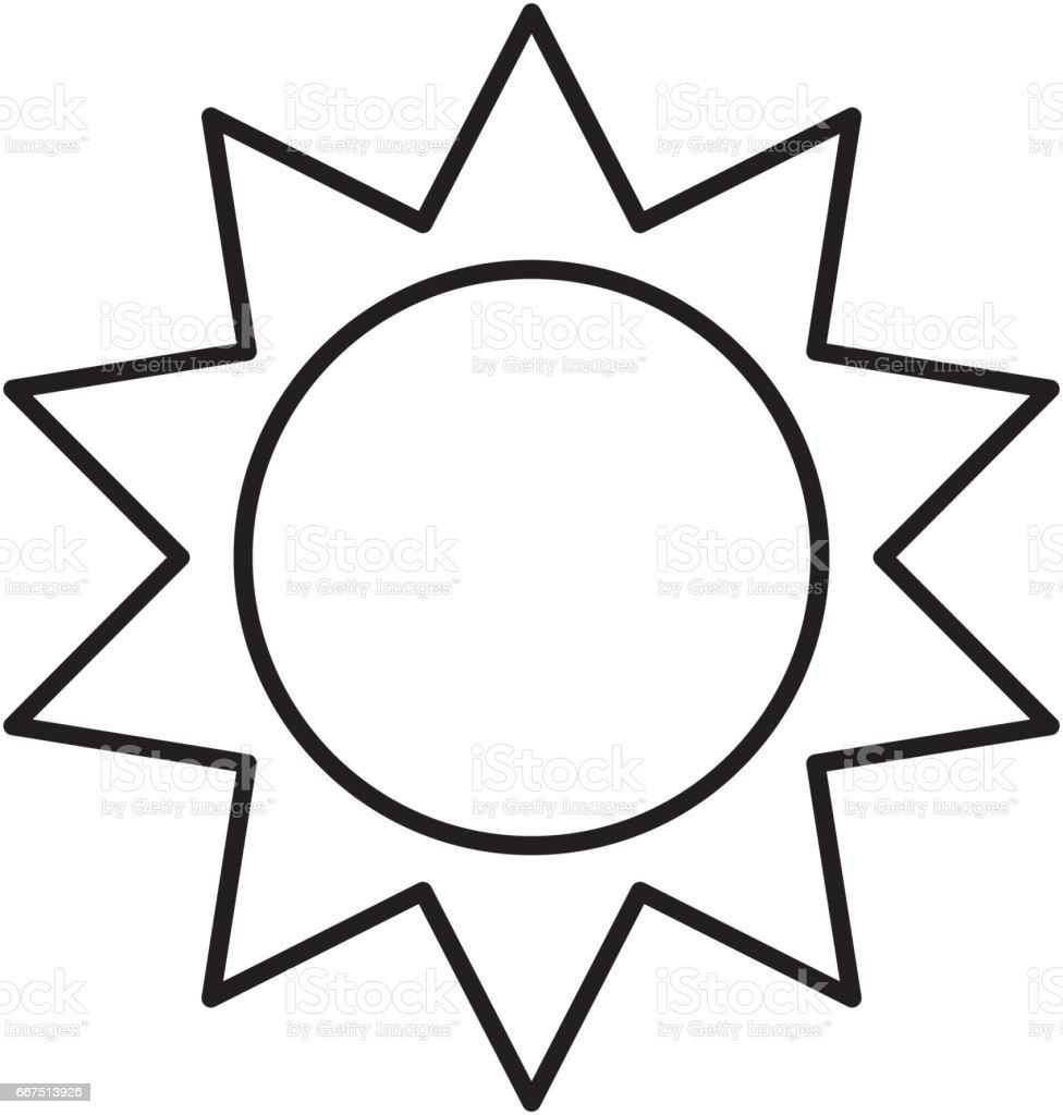 sun silhouette ecology icon sun silhouette ecology icon - immagini vettoriali stock e altre immagini di alla moda royalty-free