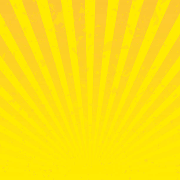 sun sunburst texture. - promień słońca stock illustrations