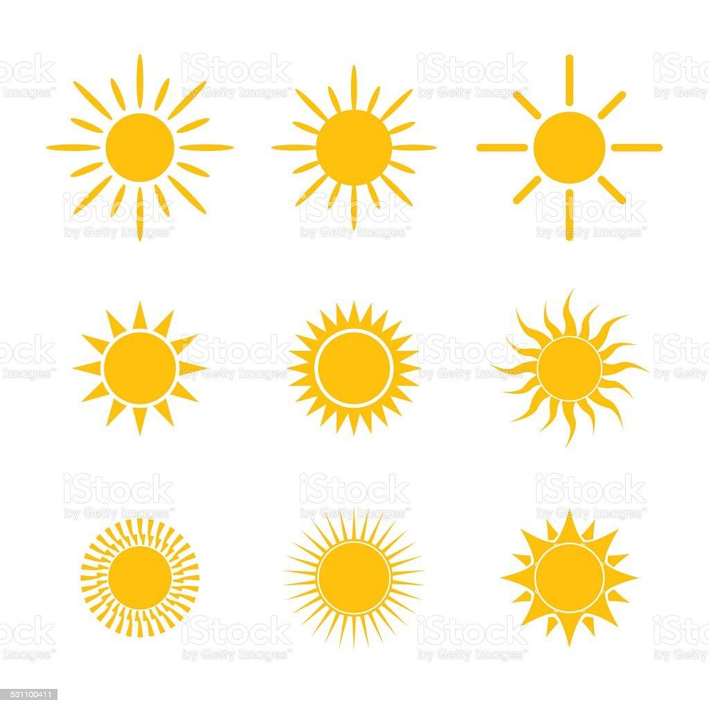Sun symbol stock vector art more images of 2015 531100411 istock sun symbol royalty free sun symbol stock vector art amp buycottarizona Images