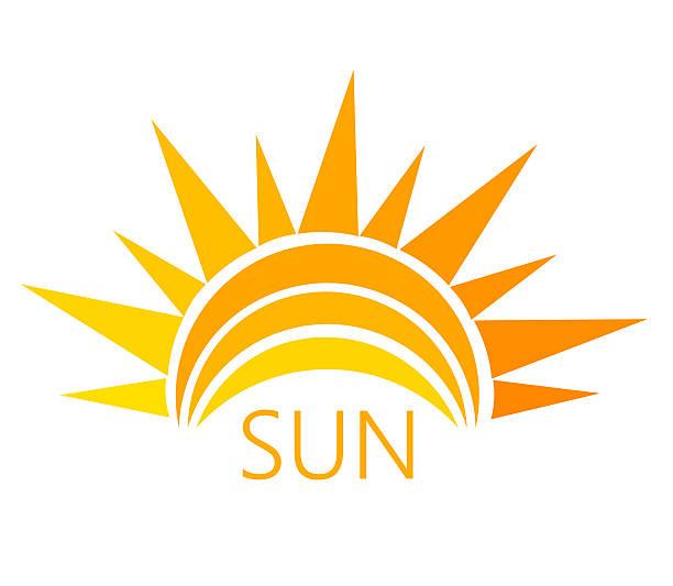Sun symbol vector vector art illustration