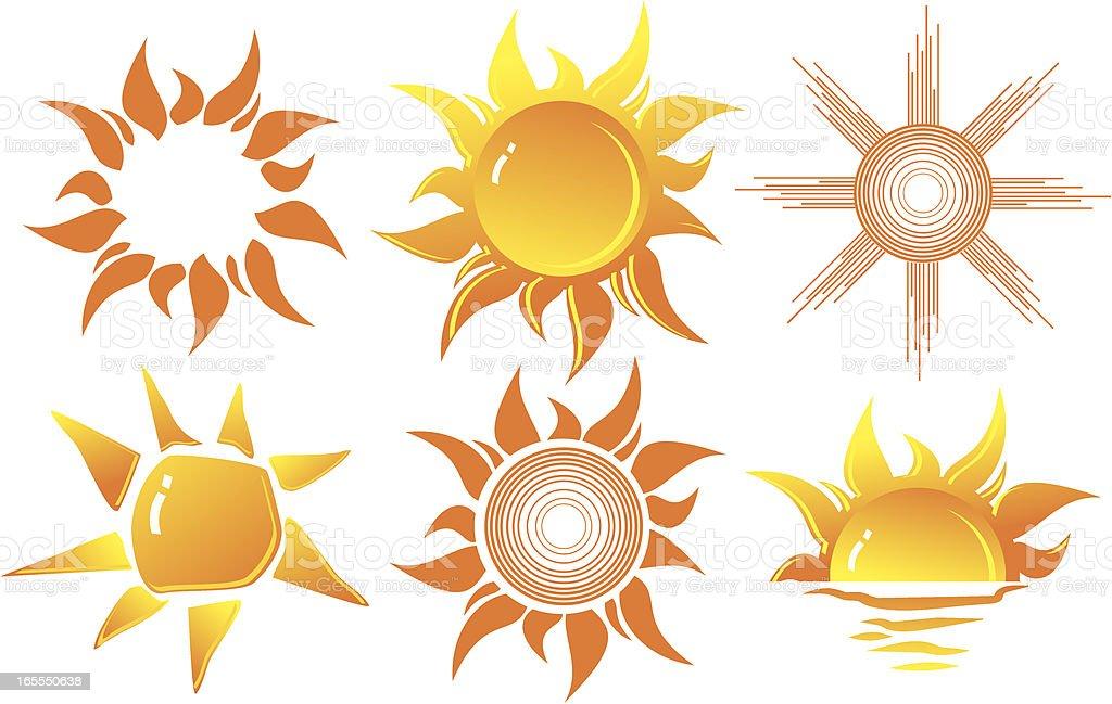 sun royalty-free sun stock vector art & more images of clip art