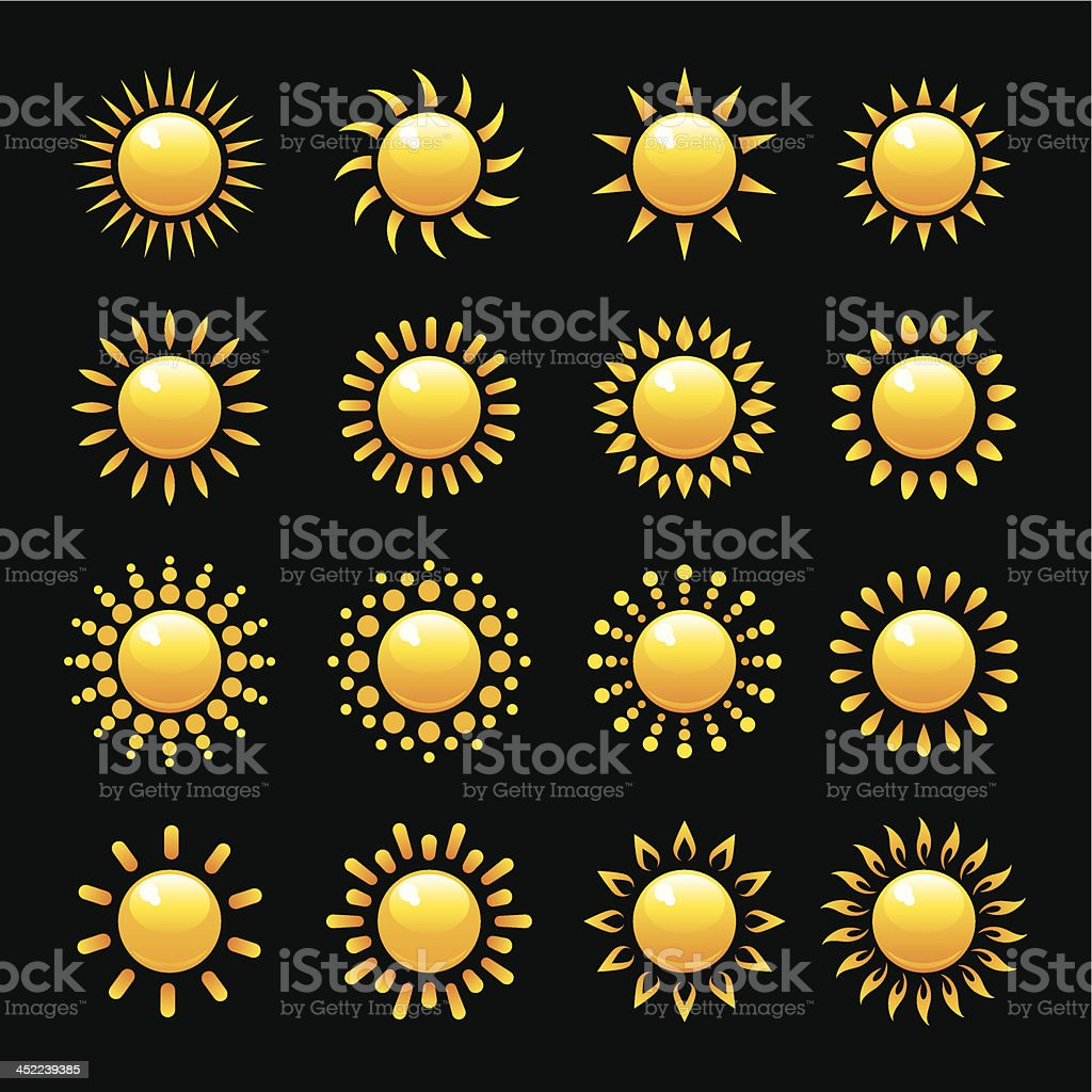 Sun royalty-free sun stock vector art & more images of abstract