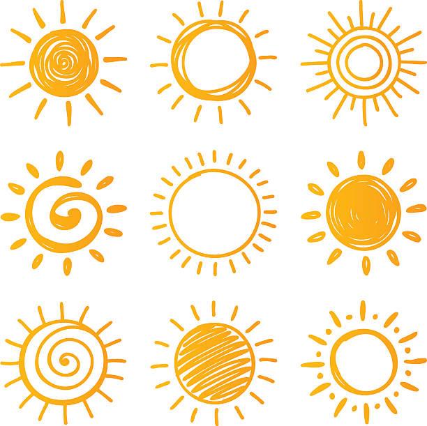 ilustrações de stock, clip art, desenhos animados e ícones de sun - sol