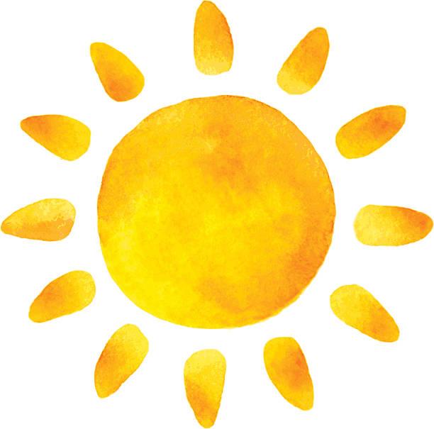 13,031 Watercolor Sun Illustrations & Clip Art - iStock