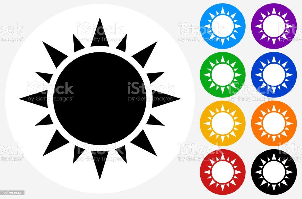Sun. vector art illustration