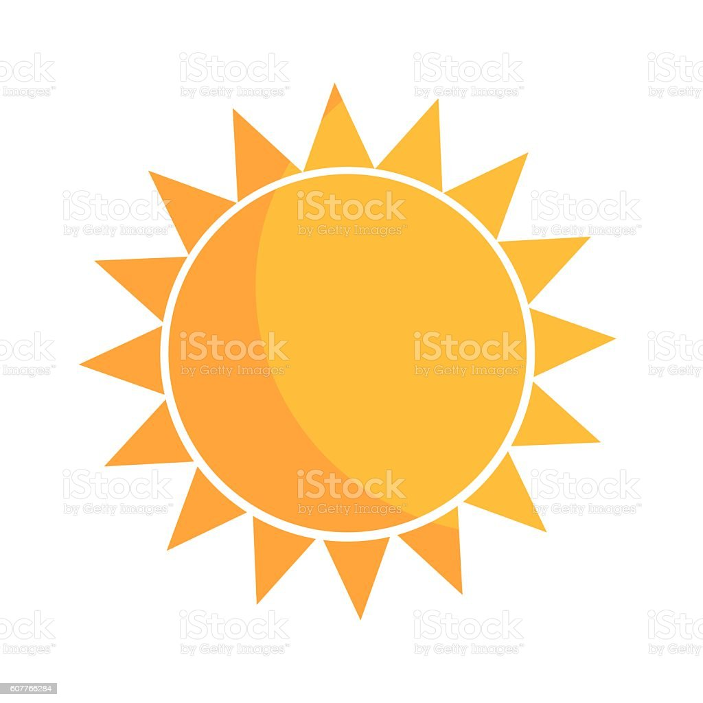 sun vector illustration stock vector art more images of abstract rh istockphoto com Rustic Arrow Silhouette Rustic Arrow Silhouette