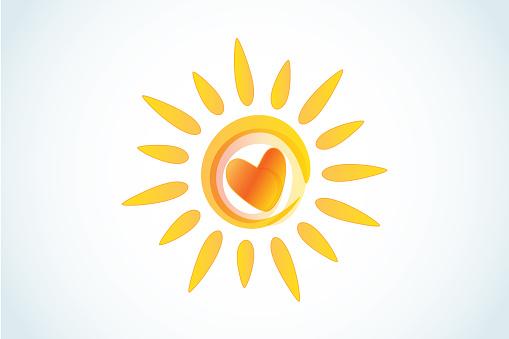 Sun With a Heart