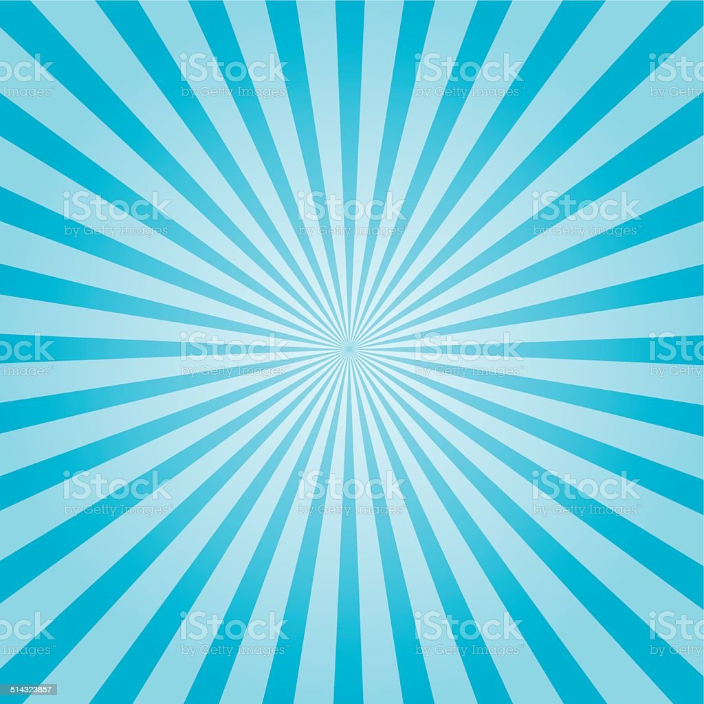 Sunbeam background vector art illustration