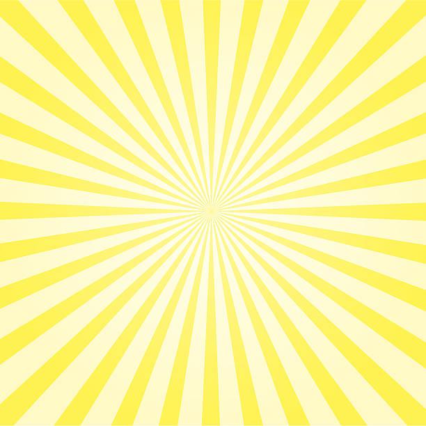 illustrazioni stock, clip art, cartoni animati e icone di tendenza di raggio di sole sfondo - luce gialla