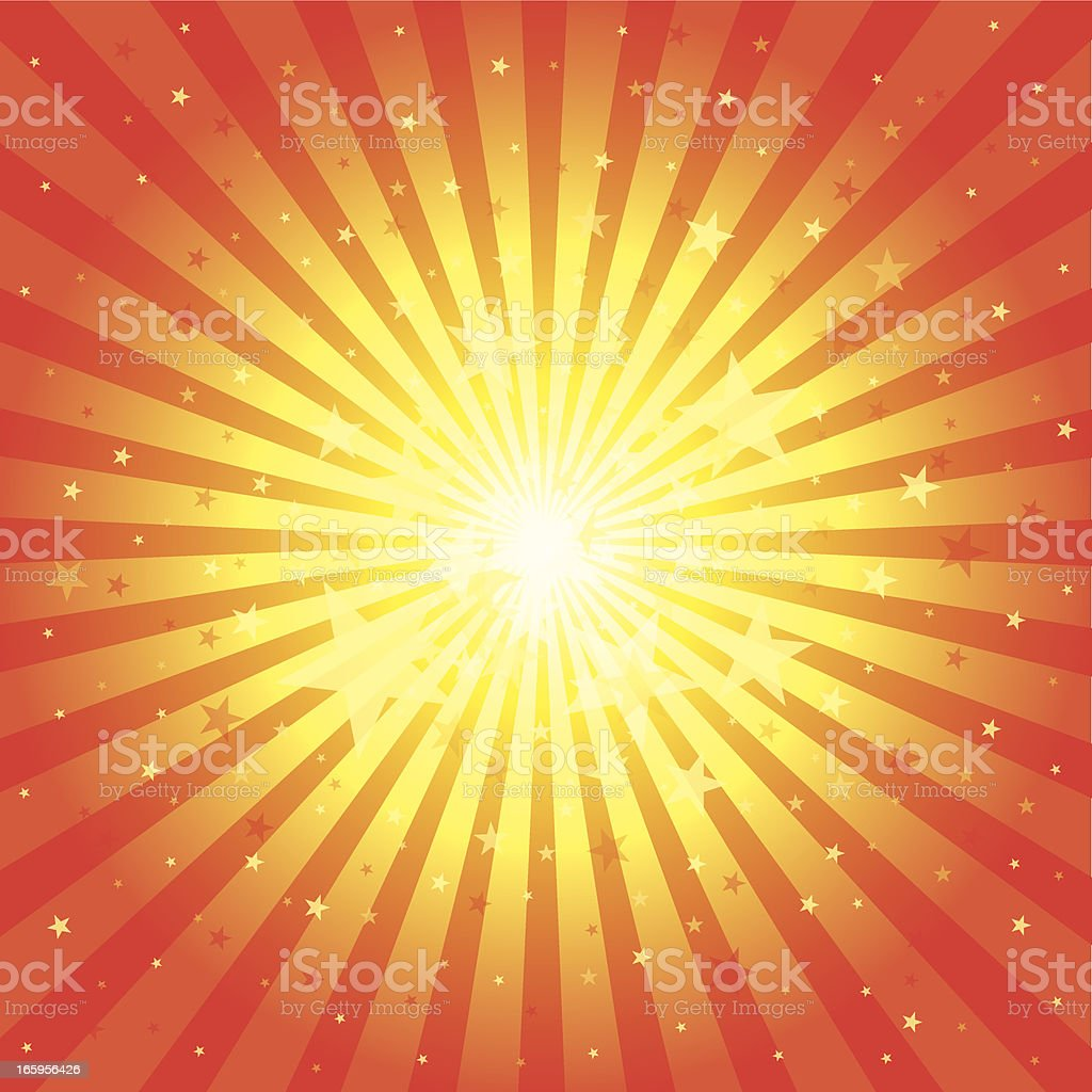 Sunbeam & Star royalty-free sunbeam star stock vector art & more images of abstract