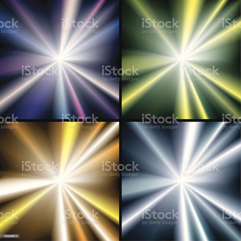Rayo de sol ilustración de rayo de sol y más banco de imágenes de abstracto libre de derechos