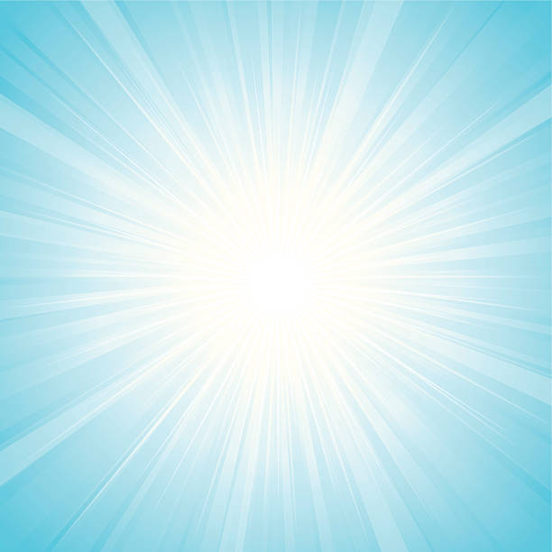 Sunbeam Sunbeam effect in light blue. illustration contains transparency effects & Gaussian Blur,AI CS3, Contains : 1 layers, Adobe Version 10EPS sunbeam stock illustrations