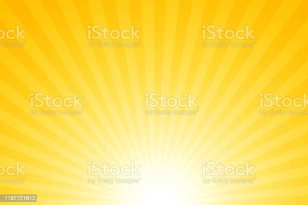 Vetores de Sunbeams Fundo Brilhante Das Raias e mais imagens de Abstrato