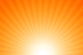 Sunbeams: Bright rays background