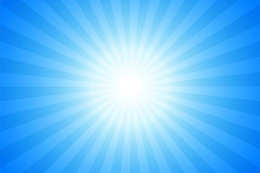 Sunbeams: Bright rays background