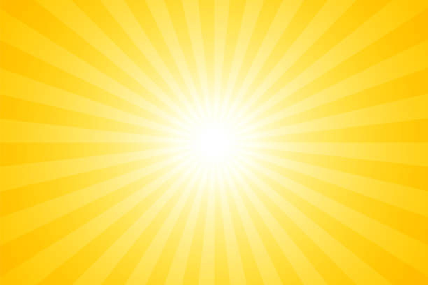 Sunbeams: Bright rays background Sunbeams: Bright rays background sun stock illustrations