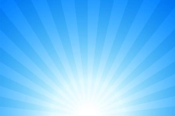 태양광 선광선: 밝은 광선 배경 - sky stock illustrations
