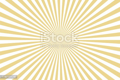 Sunbeams: gold rays background