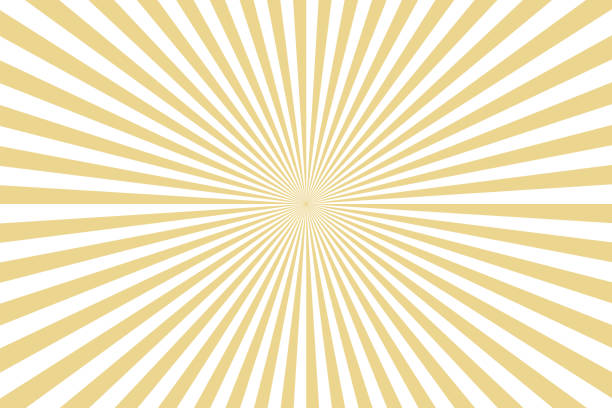 Sunbeams: gold rays background Sunbeams: gold rays background exploding stock illustrations