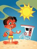 Sunburn Boy