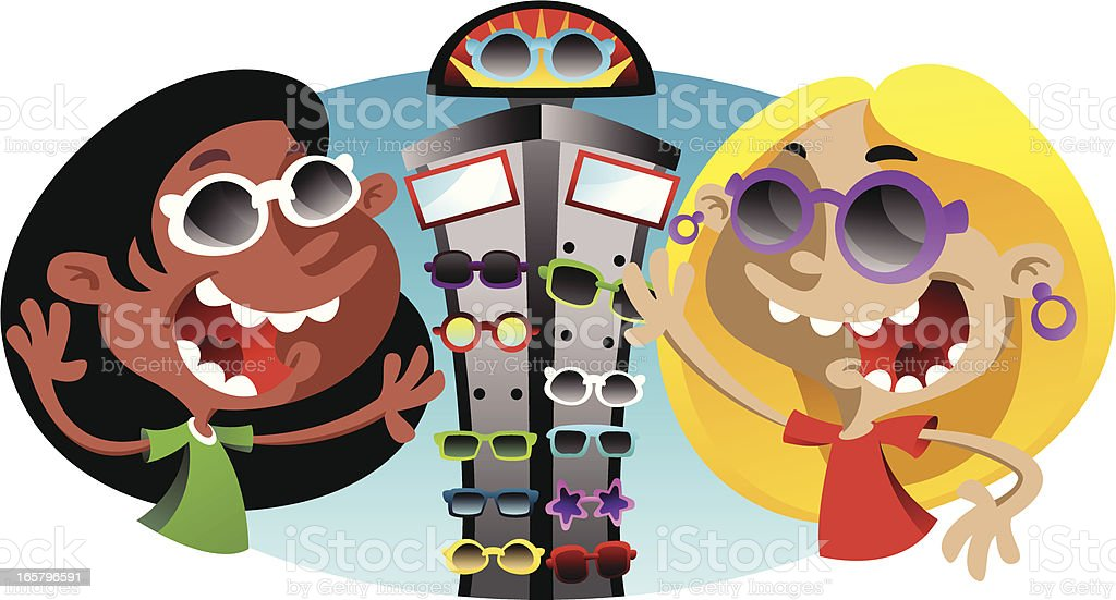 Sunglass Rack royalty-free sunglass rack stock vector art & more images of adult